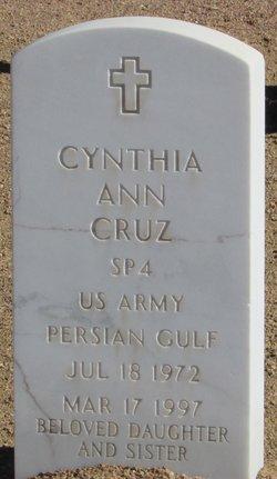 Cynthia Ann Cruz