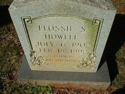 Flossie S. Howell