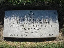 Annie Mae <I>Mora</I> Garza