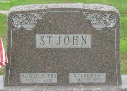Mildred W. <I>Gigliotti</I> St. John