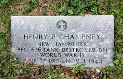 PFC Henry Perley Champney