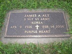 Sgt James M Alt