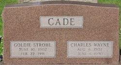 "Charles Wayne ""C.W."" Cade"