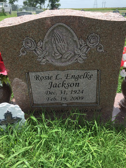 Rosie L. <I>Engelke</I> Jackson