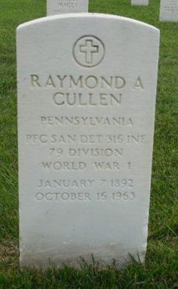 Raymond A Cullen