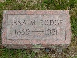 Lena May <I>Tibbetts</I> Dodge