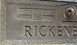 Dorothy <I>Gentry</I> Rickenbaker