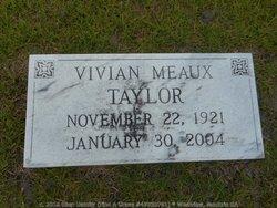 Vivian <I>Meaux</I> Taylor