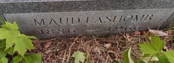 Maude M <I>Lashomb</I> Buck