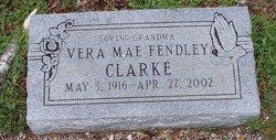 Vera Mae <I>Fendley</I> Clarke