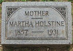 Martha June <I>Harvey</I> Holstine