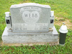 Cecil Wayne Webb