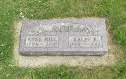Anne A <I>Hill</I> Noe