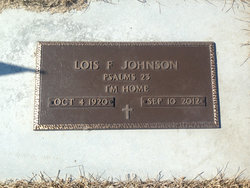 Lois F. <I>Hageleen</I> Johnson