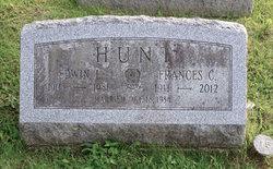 Frances Sarah <I>Childs</I> Hunt
