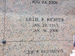 Lillie <I>Ruzicka</I> Richter