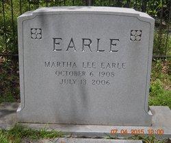 Martha <I>Lee</I> Earle