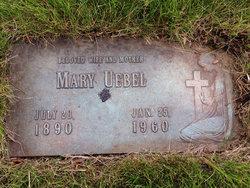 Mary <I>Hintze</I> Uebel