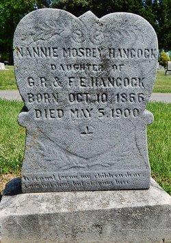Nannie Mosbey Hancock