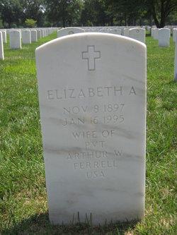 Elizabeth A Ferrell