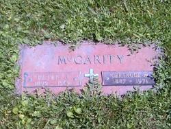Gertrude M McGarity