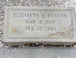 Elizabeth Elmina <I>Snyder</I> Deason