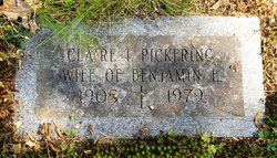 Claire I <I>Ethier</I> Pickering
