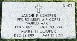 Jacob Fred Cooper