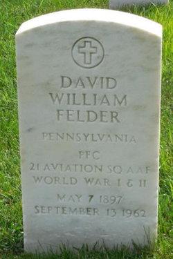 David William Felder