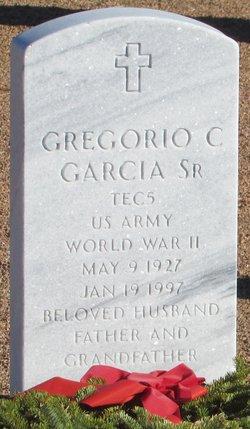 Gregorio C Garcia, Sr