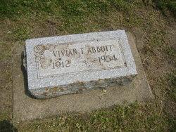 Vivian <I>Taylor</I> Abbott