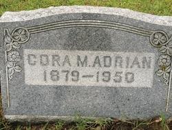 Cora M. <I>Brooks</I> Adrian