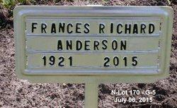 "Frances B. ""Fran"" <I>Richard</I> Howard"