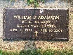William Dallas Adamson