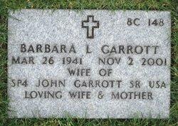 Barbara Louise Garrott