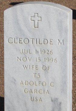Cleotilde <I>Marta</I> Garcia