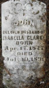Isabella A <I>Brown</I> Clark