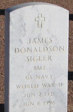 James Donaldson Sigler