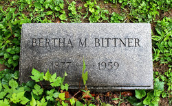 Bertha Mae <I>Walter</I> Bittner