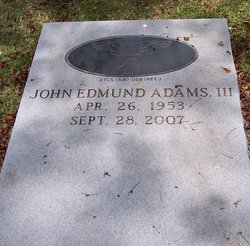 John Edmund Adams III