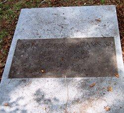 John Edmund Adams Sr.