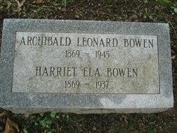 Harriet <I>Ela</I> Bowen