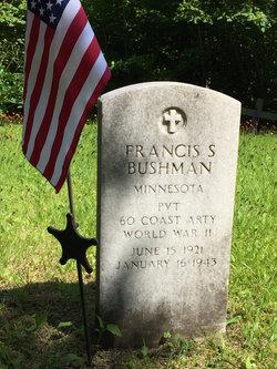 PVT Francis S Bushman
