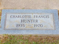 Charlotte <I>Francis</I> Hunter