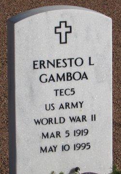 Ernesto L Gamboa