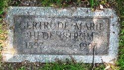 Gertrude Marie <I>Swenson</I> Hedenstrom