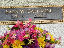 Sara Edna <I>Wilson</I> Caldwell