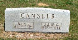 Sallie G <I>Armstrong</I> Cansler