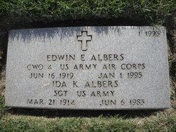 Edwin E Albers