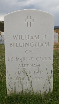 William J Billingham